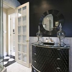 Hollywood Glam Bedroom Design