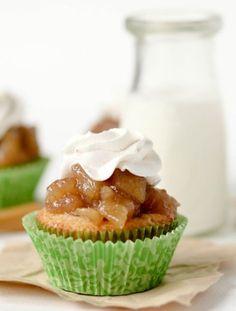 How To Make Apple Pie Cupcake Recipe | Craze Life