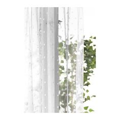 SUNRID Meterware IKEA Perfekt zum Selbernähen von romantischen Spitzengardinen und für viele andere Einsatzzwecke.