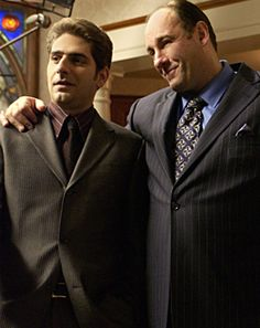 Christopher and Tony...The Sopranos...one of my all time favorite shows.