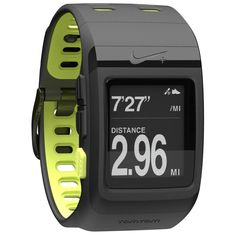 Nike+ SportWatch GPS. Hopefully, this will help me with my goal.
