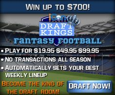 2013 Announcement! iCon Fantasy Sportsis officially open and ready to start drafting!  Ladies and gentleman, old and new iCon's, we are pleased to announce that it is about that time to start drafting again! We have worked HARD to get to this point and we would not be here if not for you guys and the success we had last su...