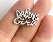#Daddy's Girl Charms StashofCharms at Etsy.com