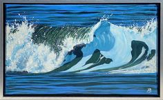 Whale, Original Paintings, Animals, Outdoor, Outdoors, Animales, Animaux, Whales, Animal Memes