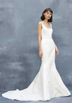 e7e8664c4ec Amsale Ludlow Mermaid Wedding Dress Wedding Dresses With Straps
