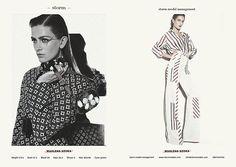 STORM LFW S/S 2014 WOMEN SHOWCARD - Marlena Szoka