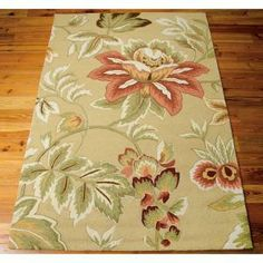 Nourison French Country Chocolate 8 ft. x 10 ft. 6in. Area Rug-032676 at The Home Depot