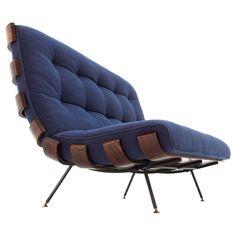 Rosewood sofa by Martin Eisler & Carlo Haune.