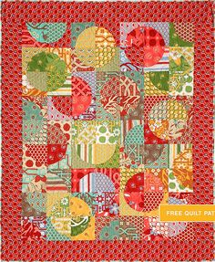 Deer Valley quilt - free pattern  http://freespiritfabric.com/core-pages/patterns.php