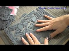 Bare Rubber Stamps, EZ Mount and a Hot Knife Video