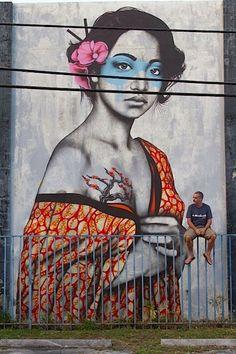 street art , Miami, USA