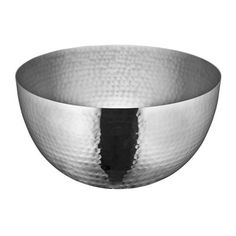 Stainless steel serving bowl with a hammered finish. Product: Serving bowlConstruction Material: Stainless steelColor: SilverFeatures: Hammered finishDimensions: H x DiameterCleaning and Care: Dishwasher safe Serving Bowl Set, Serving Dishes, Serving Utensils, Hanging Fruit Baskets, Pasta Bowl Set, Up House, French Oak, Salad Bowls, Rain Drops
