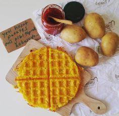 Patates waffle - İdabahçe organik yaşam
