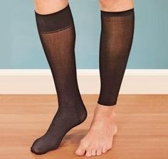 Ladies' Compression Socks w/Sleeves @ Harriet Carter