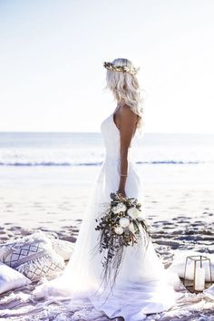 GypsyLovinLight Boho Beach Bride | Weddings & Getting Married | Pinterest