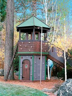 Barbara Butler-Extraordinary Play Structures for Kids-Tahoe Outpost: At home in a forest