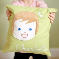 personalized pillows for little ones