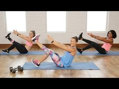 12/15/16 Body Sculpting Workout To Get Your Heart Rate Up | Class FitSugar - YouTube