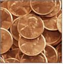 Door To Door For Pennies Fundraiser. Go door to door asking for pennies for what ever your group is trying to raise money for. If they try to give you any coins other than a penny, refuse but say that you will gladly take paper money. Most people are confused at the fact that you will only take pennies, but then smile and usually give you some form of paper money.