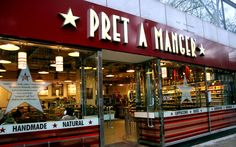 Pret A Manger...there originated in LONDON?! No wonder I love it so much!!!