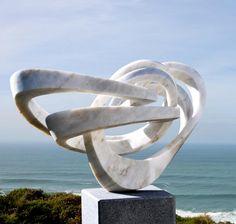 Georg Scheele sculptures in marble. - Art People Gallery