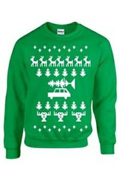 Ugly Christmas Sweater Penguins | Ugliest christmas sweaters ...