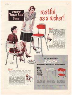 Vintage 1949 Watson Sterling Silverware Meadow Rose Pattern Magazine Print Ad - Avid Vintage - 2