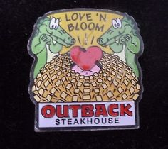 Love N Bloom Outback Steakhouse Pin