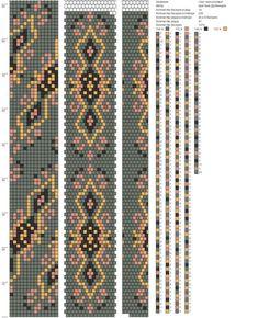 14 around tubular bead crochet rope pattern. Crochet Necklace Pattern, Crochet Beaded Bracelets, Bead Crochet Patterns, Seed Bead Patterns, Beading Patterns, Spiral Crochet, Bead Crochet Rope, Beaded Crochet, Bead Embroidery Jewelry