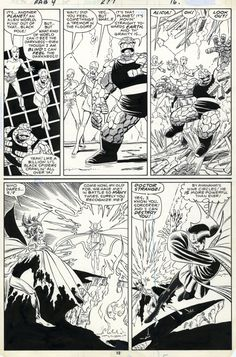 Fantastic Four #277, page 12 by John Byrne & Jerry... | John Byrne Draws...