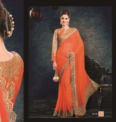 Sari Indian Bollywood Designer Saree Ethnic Wedding Pakistani Traditional 6100 #KriyaCreation