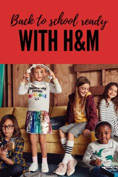 Back to School ready with H&M. Find trendy styles at amazing prices now! Back To School Lunch Ideas, Back To School Crafts, Back To School Hacks, Trendy Fashion, Fashion Beauty, Kids Fashion, Fashion Ideas, School Gifts, School Days