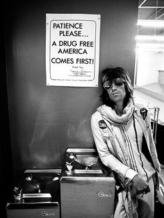 Oh, Keef, I didn't initially notice the Coke badge on your jacket...
