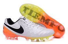 219ed7474 2016 Latest Nike Tiempo Legend VI FG Soccer Boots white black orange $  89.99 Soccer Cleats