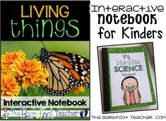 The Barefoot Teacher: Science Interactive Notebooks: Living Things