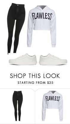 """day"" by juliadb on Polyvore featuring Topshop, WithChic and Vans"