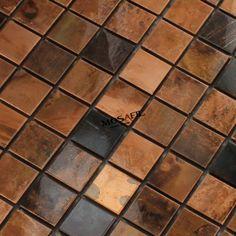 Copper metal tiles