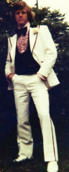 "Terrible Tuxes of the 70s -- They didn't seem so bad at the time. Only 30+ years later do we look back and say ""Yuck"""