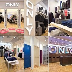 We are opening a new cool ONLY Store today in Poland
