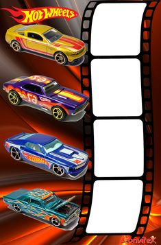 hotwheels | Convite ou Frame Hot Wheels 03 Hot Wheels Birthday, Hot Wheels Party, Youtube Party, Ferrari, Birthday Frames, Cars Birthday Parties, Party Entertainment, Party Printables, Baby Shower