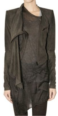 Haider Ackermann washed leather.