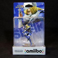Nintendo Amiibo Sheik Wii U 3DS North American Version Brand New Sealed RARE #Nintendo