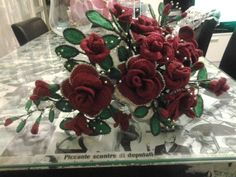 bouquet sposa uncinetto