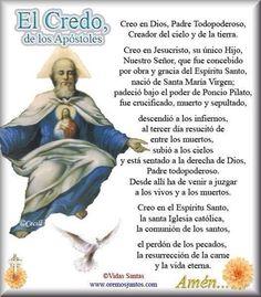 Holy Mary Prayer, God Prayer, Power Of Prayer, Daily Prayer, Catholic Prayers In Spanish, Easter Prayers, Prayers To Mary, Holy Rosary, Catholic Religion