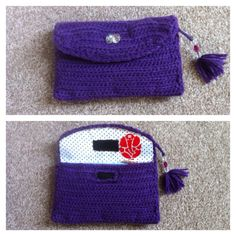 Crochet purse/wallet