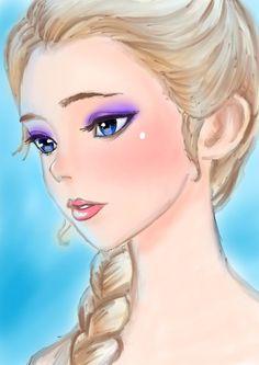 Elsa by L-L-arts.deviantart.com on @DeviantArt