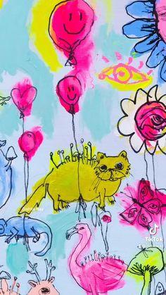 #painting #paintpalettes #party #cats #catlovers #diyclock #clock Diy Clock, Relationship Tips, Diy Cards, Art School, Dahlia, Cat Lovers, Artworks, Art Ideas, Digital Art