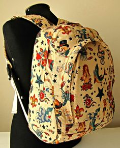 $159 - Mochila Tattoo Old - Done By Me
