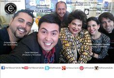 izq a der.... Orlando Diarte (Dir. REVISTA IDA & VUELTA), Cesar Marquez (Productor y Periodista), Jura P. Ordoñez (Dir. Passport Travel), Sra. Marcela Fernández de Gándara (Fundación Ganfer), Luisa Alejandra Gandara (Fundación Ganfer), Chef Manuel Salcido!!! buena vibra!!! #chefcms #idayvueltaradio #fundación #ganfer #fundaciónganfer #tecdemonterrey #nuezhermosillo #bacanora #ando #denominacióndeorigen #cultura
