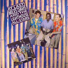 The artwork for the vinyl release of: Miles Davis   The Lighthouse Allstars - At Last! (remastered) (Cornbread) #music SoulJazz